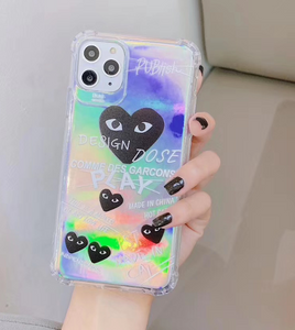 Love Play Heart Cdg Comme Des Garcons Case For Apple Iphone 11 Pro Max SE X Xr Xs 7 8