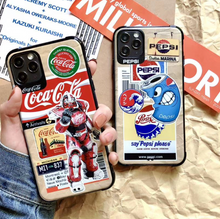 Load image into Gallery viewer, Luxury Coca Cola Pepsi Cola Case For Apple Iphone 11 Pro Max SE X Xr Xs 7 8