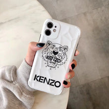 Load image into Gallery viewer, Luxury France Kenzo Tiger Case For Apple Iphone 12 Pro Max 11 X Xr Xs 7 8