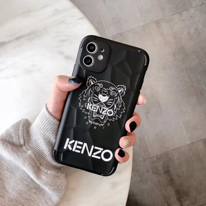 Luxury France Kenzo Tiger Case For Apple Iphone 12 Pro Max 11 X Xr Xs 7 8