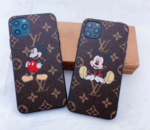 Louis Vuitton Mickey Disney Case For Apple Iphone 12 Pro Max Mini 11 SE Xr Xs X 7 8
