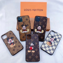 Load image into Gallery viewer, Louis Vuitton Mickey Disney Case For Apple Iphone 12 Pro Max Mini 11 SE Xr Xs X 7 8