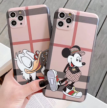 Load image into Gallery viewer, Louis Vuitton LV Gucci GG Mickey Picsou Case For Apple Iphone 12 Pro Max Mini SE Xr Xs X 7 8