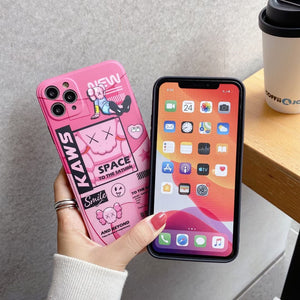 Kaws Doll Pop Art Case For Apple Iphone 11 Pro Max SE X Xr Xs 7 8