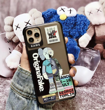 Load image into Gallery viewer, Kaws Pop Art Original Fake Case For Apple Iphone 11 Pro Max SE X Xr Xs 7 8
