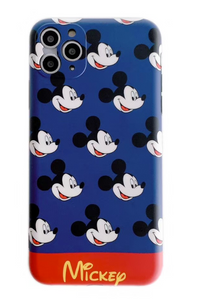 Luxury Mickey Disney Case For Apple Iphone 11 Pro Max SE Xr Xs X 7 8