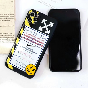 Off White Nike Air Boarding Pass Case For Apple Iphone 11 Pro Max SE X Xr Xs 7 8
