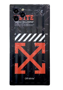 Luxury Off White Simpson Case For Apple Iphone 11 Pro Max SE X Xr Xs 7 8