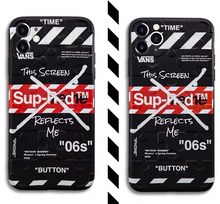 Load image into Gallery viewer, Vans Supreme Off White Japan Case For Apple Iphone 11 Pro Max SE Xr Xs X 7 8