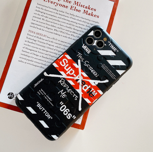 Vans Supreme Off White Japan Case For Apple Iphone 11 Pro Max SE Xr Xs X 7 8