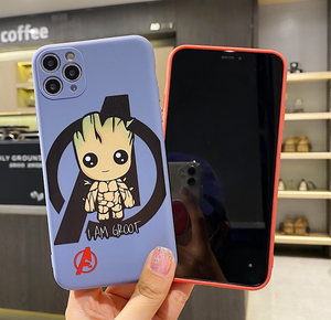 Avengers Marvel i Am Groot Comics Case For Apple Iphone 11 Pro Max SE X Xr Xs 7 8