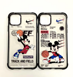 Off White Mickey Nike Air Case For Apple Iphone 11 Pro Max SE X Xr Xs 7 8