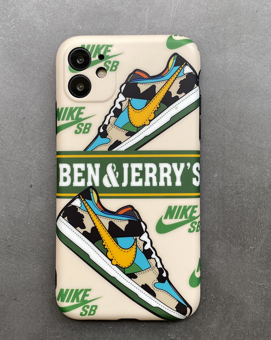 Luxury Nike Air Ben & Jerry's Case For Apple Iphone 11 Pro Max SE X Xr Xs 7 8
