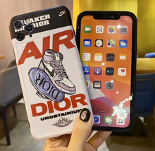 Load image into Gallery viewer, Nike Air Jordan 23 Christian Dior Case For Apple Iphone 11 Pro Max SE X Xr Xs 7 8