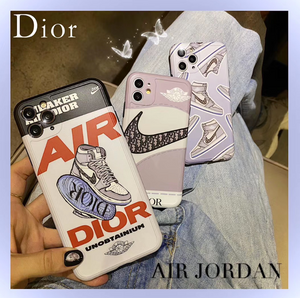 Nike Air Jordan 23 Christian Dior Case For Apple Iphone 11 Pro Max SE X Xr Xs 7 8