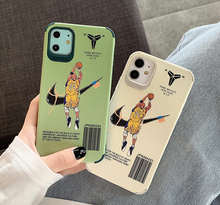 Load image into Gallery viewer, Kobe Bryant Black Mamba Nike Air Case For Apple Iphone 11 Pro Max SE X Xr Xs 6 7 8