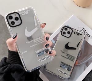Luxury Nike Air Off white Case For Apple Iphone 11 Pro Max SE X Xr Xs 7 8