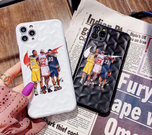 Kobe Bryant Jordan NBA Nike Air Case For Apple Iphone 11 Pro Max SE X Xr Xs 6 7 8
