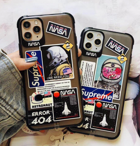 Supreme Nasa Cover Case For Apple Iphone 11 Pro Max SE X Xr Xs 7 8