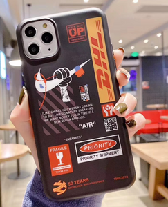 Supreme Nike Air Off White DHL Case For Apple Iphone 11 Pro Max SE Xr Xs X 6 7 8
