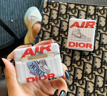 Load image into Gallery viewer, Luxury Christian Dior Nike Jordan Cover Case For Apple Airpods pro Airpods 1 2