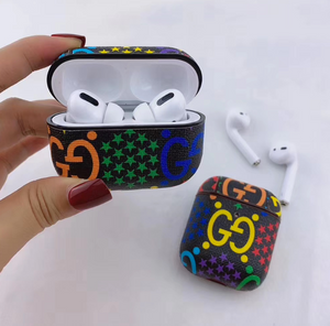 Luxury Italy Milan Gucci GG Logo Protective Cover Case For Apple Airpods 1 2 Airpods Pro 3
