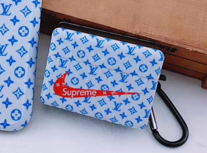 Luxury Supreme Louis Vuitton Nike Air Protective Cover Case For Apple Airpods 1 2 Airpods Pro 3