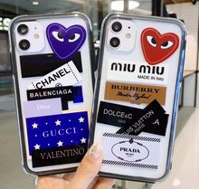 Load image into Gallery viewer, Chanel Miu Miu Burberry Prada Louis Vuitton Case For Apple Iphone 11 Pro Max SE X Xr Xs 7 8