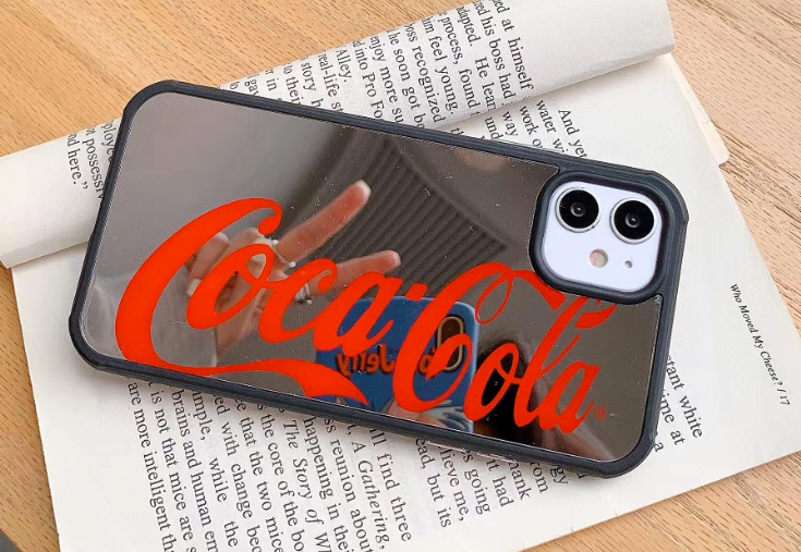 Coca Cola Drink Mirror Cover Case For Apple Iphone 11 Pro Max SE Xr Xs X 7 8