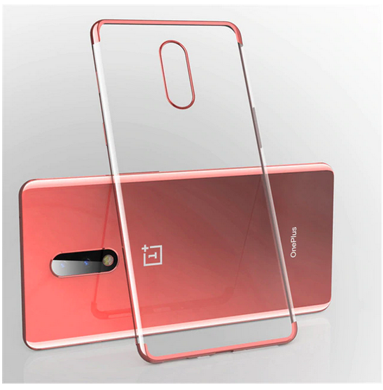 Electroplate Soft Clear Cover Case For for Oneplus One Plus 6 7 7 Pro 7T 7T Pro