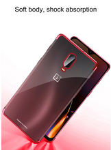 Load image into Gallery viewer, Electroplate Soft Clear Cover Case For for Oneplus One Plus 6 7 7 Pro 7T 7T Pro