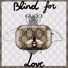 Load image into Gallery viewer, Italy Gucci GG L'Aveugle Protective Cover Case For Apple Airpods Pro Airpods 1 2
