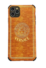 Load image into Gallery viewer, Gianni Versace Burberry England Case Apple iPhone 12 Pro Max Mini 11 X Xr Xs 7 8