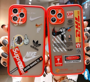 Supreme Nike Adidas Off White DHL Case For Apple Iphone 11 Pro Max SE Xr Xs X 6 7 8