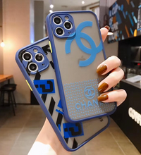 Load image into Gallery viewer, Luxury France Paris Chanel Off White Case For Apple Iphone 11 Pro Max SE X Xr Xs 7 8