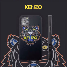 Load image into Gallery viewer, Luxury France Paris Kenzo Tiger Cover Case For Apple Iphone 11 Pro Max X Xr Xs 6 7 8