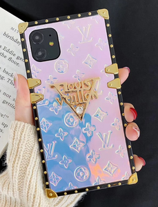 Luxury Paris France Louis Vuitton Case For Apple Iphone 12 Pro Max 11 SE Xr Xs X 7 8