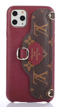 Load image into Gallery viewer, Louis Vuitton Wallet Bag Case For Apple iPhone 12 Pro Max Mini 11 SE Xr Xs X 7 8