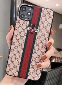 Luxury Italy Gucci GG GC Bee Tiger Snake Cover Case For Apple Iphone 11 Pro Max X Xr Xs 6 7 8