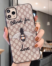 Load image into Gallery viewer, Luxury Italy Gucci GG GC Bee Tiger Snake Cover Case For Apple Iphone 11 Pro Max X Xr Xs 6 7 8