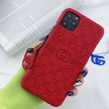 Load image into Gallery viewer, Luxury Italy Gucci GC GG Cover Case For Apple Iphone 11 Pro Max Xr Xs X 6 7 8