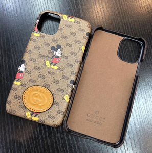 Luxury Italy Gucci Mickey GG GC Cover Case For Apple Iphone 11 Pro Max X Xr Xs 7 8