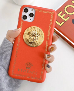Luxury Italy Gianni Versace Case Apple Iphone 11 Pro Max X Xr Xs 7 8