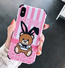 Load image into Gallery viewer, Luxury Italy Milan Moschino Cover Case For Apple Iphone 11 Pro Max Xr Xs X 6 7 8
