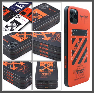 Luxury Italy Milan Off White Virgil Abloh Case For Apple Iphone 11 Pro Max X Xr Xs 6 7 8