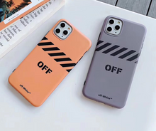 Load image into Gallery viewer, Luxury Italy Milan Off White Cover Case For Apple Iphone 11 Pro Max X Xr Xs 6 7 8