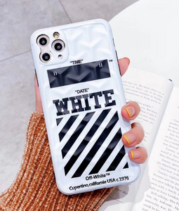 Luxury Italy Milan Off White Cover Case For Apple Iphone 11 Pro Max X Xr Xs 6 7 8