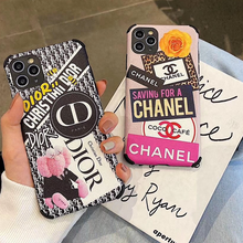 Load image into Gallery viewer, Luxury Paris Christian Dior Chanel Coco Case For Apple Iphone 11 Pro Max Xr Xs X 7 8