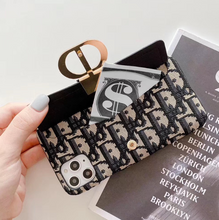 Load image into Gallery viewer, Luxury Paris Christian Dior Wallet Slot Case For Apple Iphone 11 Pro Max Xr Xs X 7 8