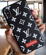 Load image into Gallery viewer, Luxury Paris France Louis Vuitton Supreme Cover Case For Apple Iphone 11 Pro Max 6 7 8 X Xr Xs